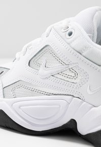 Nike Sportswear - TEKNO  - Sneakersy niskie - white/metallic silver/black - 2