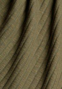 Esprit - HIGHNECK - Long sleeved top - dark khaki - 10