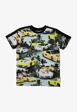 RISHI - Print T-shirt - fast cars