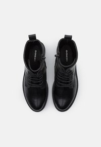 Even&Odd Wide Fit - Lace-up ankle boots - black - 5