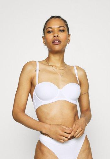 2 PACK - T-skjorte-BH - white/nude