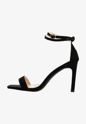 CORY - High heeled sandals - black