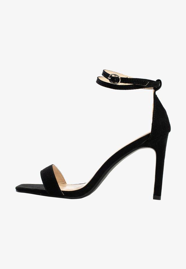 CORY - Sandalen met hoge hak - black