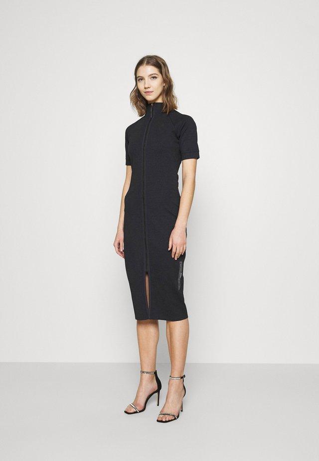 MOCK SLIM DRESS SLEEVE - Shift dress - dark blue