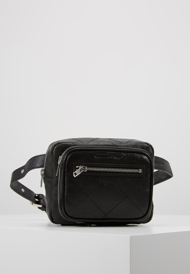 BELT BAG - Sac banane - black