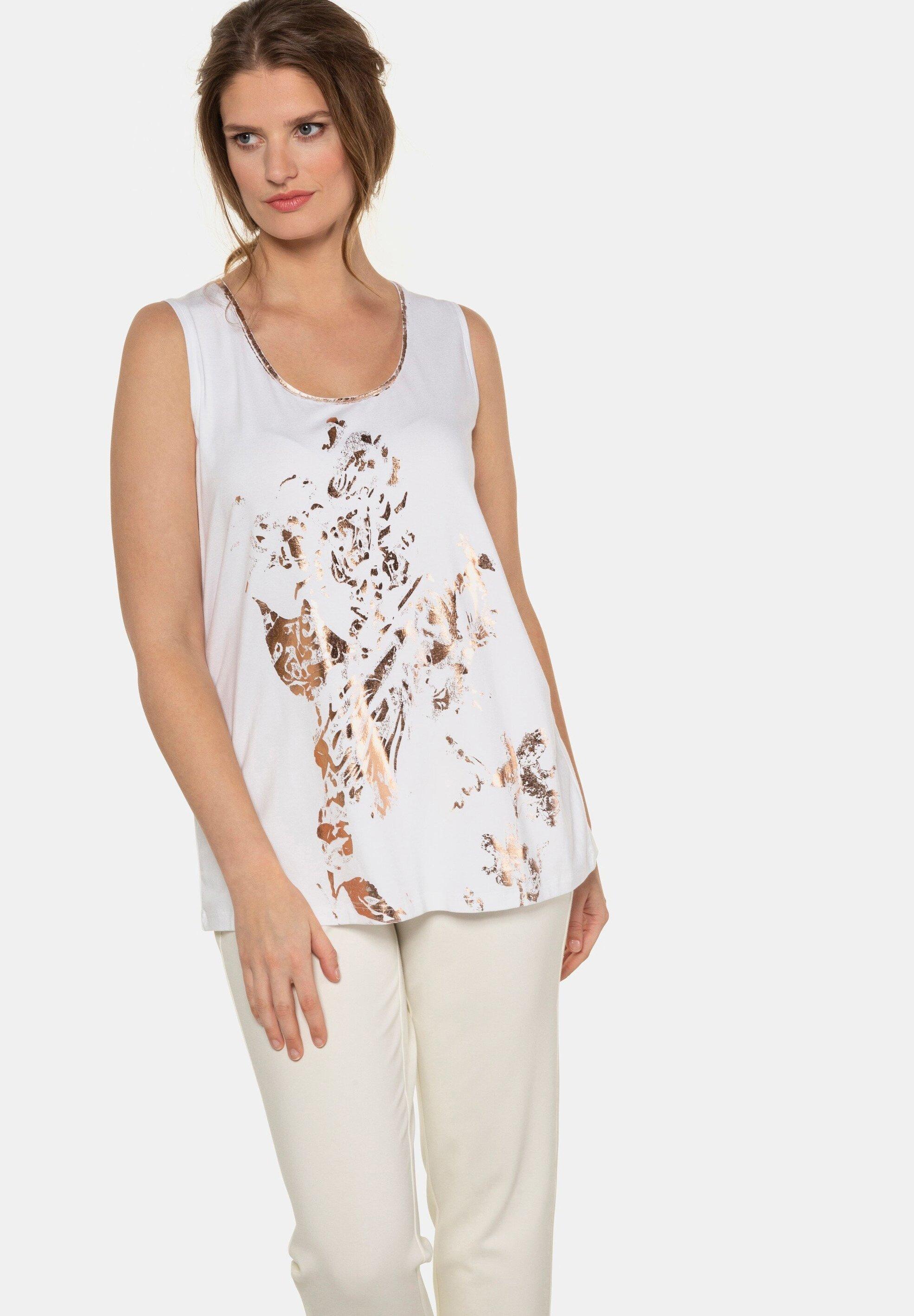 Ulla Popken Débardeur - offwhite - Tops & T-shirts Femme KbuTN
