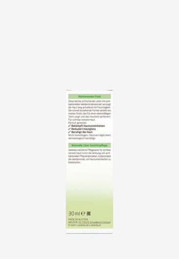 NATURALLY CLEAR REFINING LOTION - Face cream - -