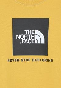 The North Face - BOX CREW UNISEX - Felpa - yellow - 4