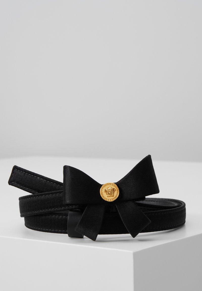 Versace - CINTURA FIOCCO - Ceinture - nero