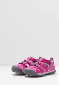 Keen - SEACAMP II CNX - Vandringssandaler - very berry/dawn pink - 3