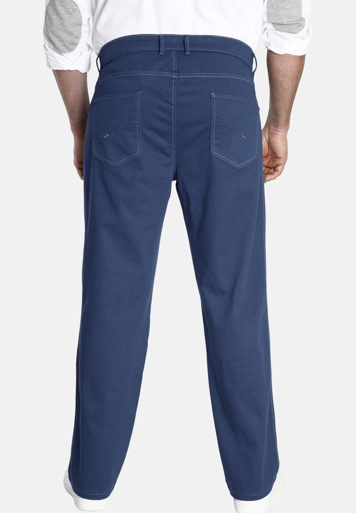 Charles Colby DUKE HOLDEN - Pantalon classique - blue