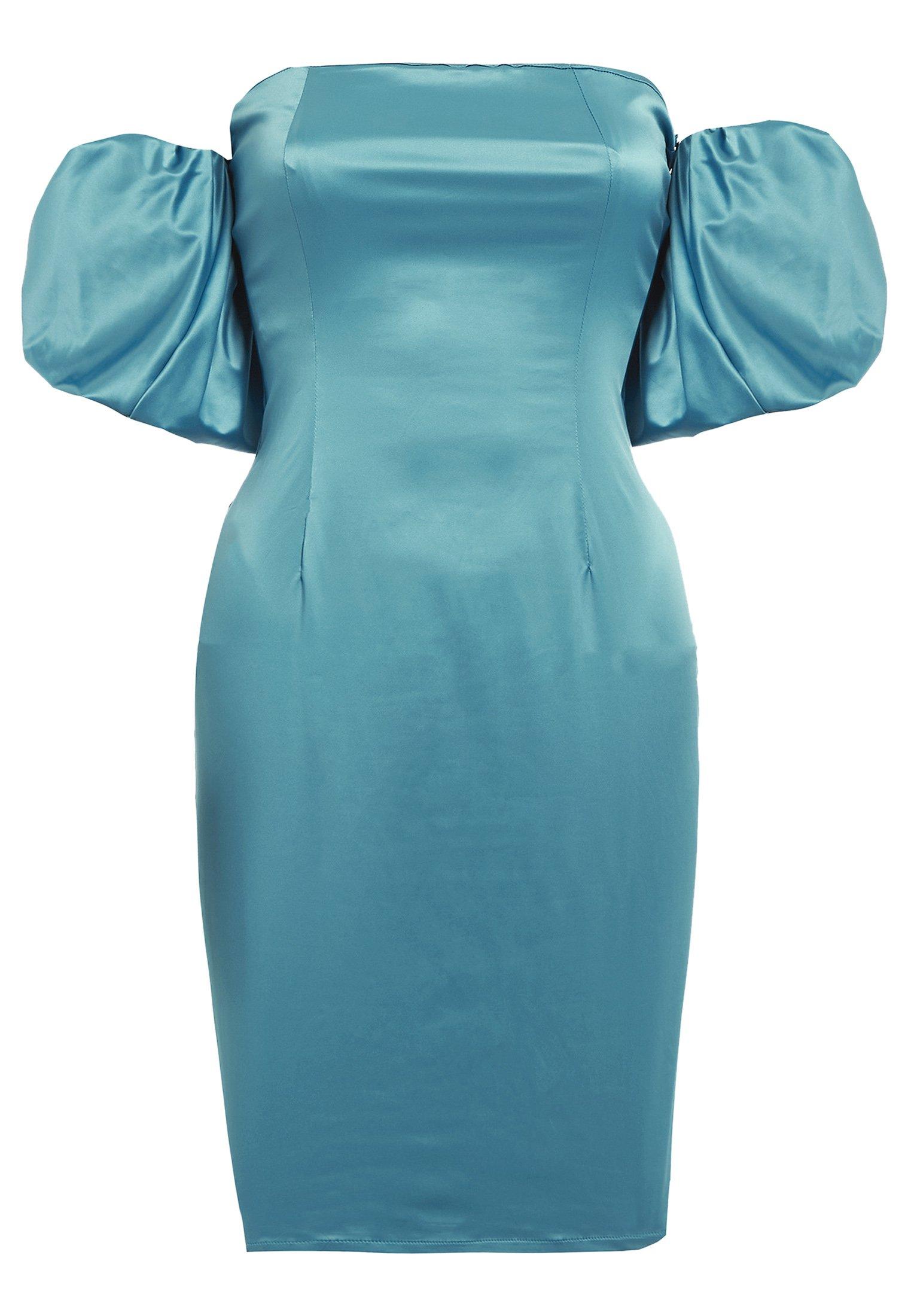 Sixty Ninety Robe fourreau - blue