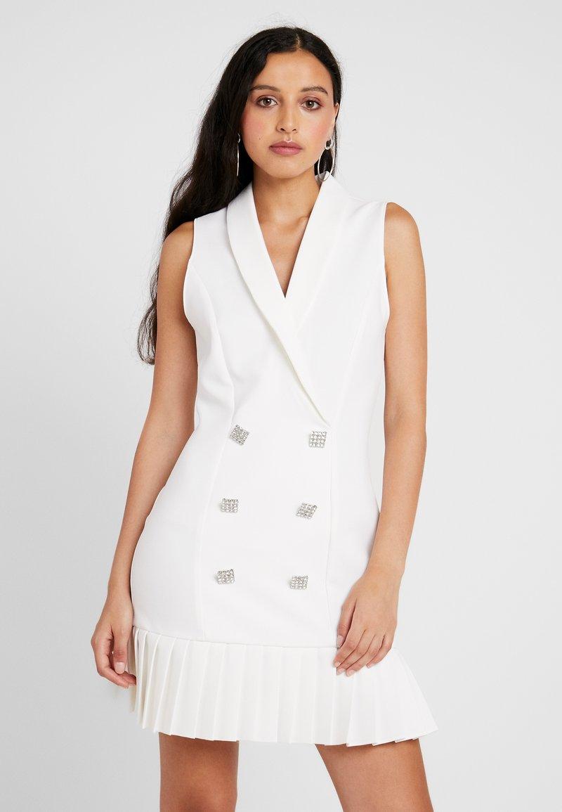River Island - Shirt dress - ivory