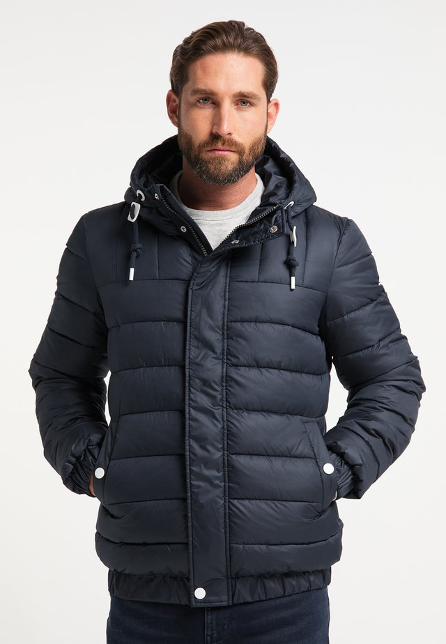 GESTEPPTE - Winter jacket - marine