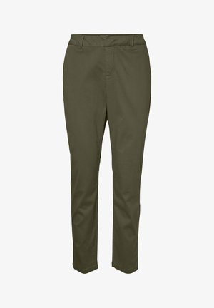NORMAL WAIST - Chinos - ivy green