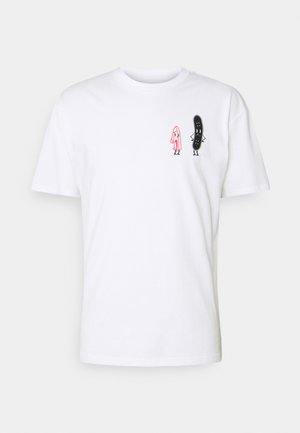 FRIENDS TEE UNISEX - T-shirts med print - white