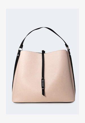 Shopping bag - powder pink