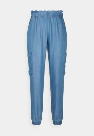 Trousers - medium blue