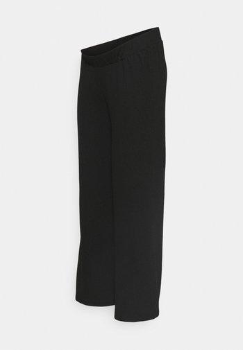 BLACK - Trousers - black