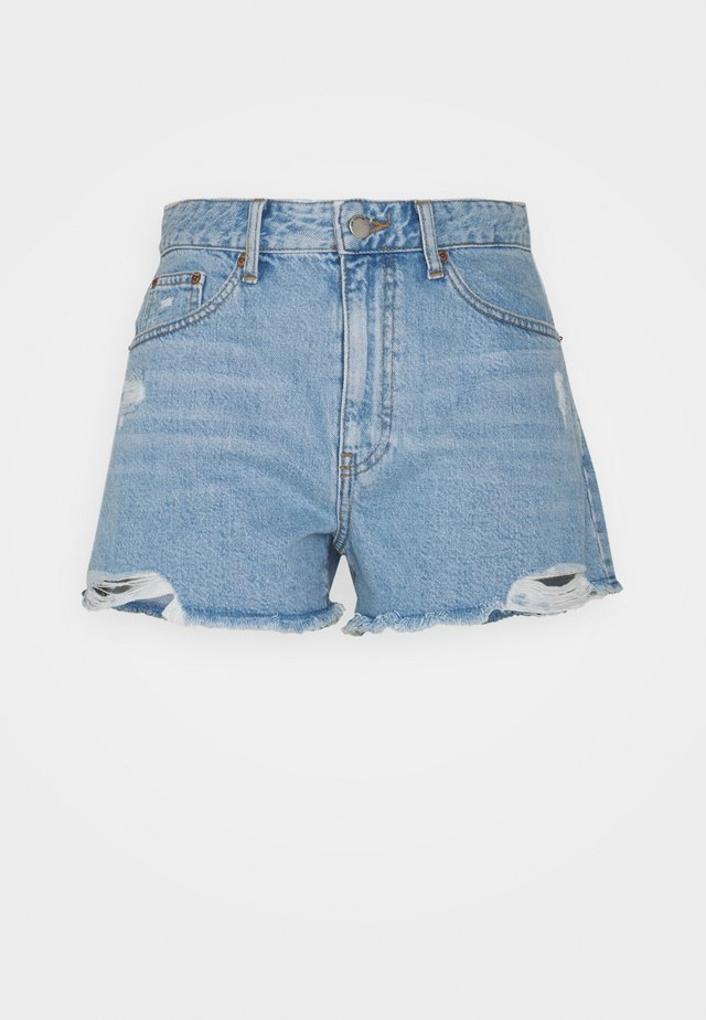 SKYE - Shorts di jeans - empress light blue