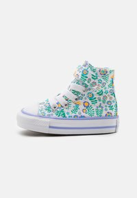 Converse - CHUCK TAYLOR ALL STAR - High-top trainers - white/twilight pulse/citron pulse - 0