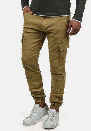 CARGOHOSE BROMFIELD - Pantalon cargo - olive