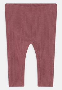 Name it - NBFLEILA SET - Leggings - Trousers - peyote melange - 2
