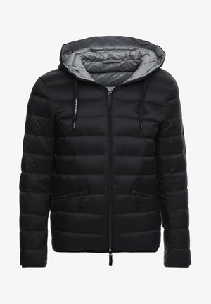 Daunenjacke - black/grey