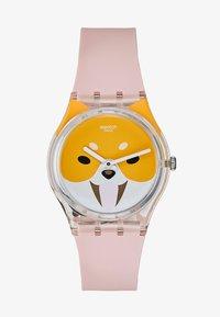 Swatch - AKITA INU - Klokke - rosa - 1