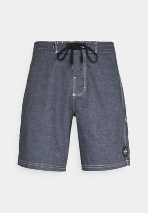 BURNT OUT HEMP FIXED WAIST - Shorts - midnight