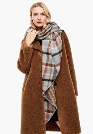 Scarf - grey check