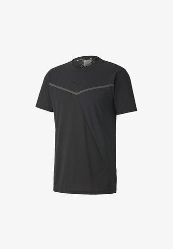 THERMO - T-shirt med print - puma black