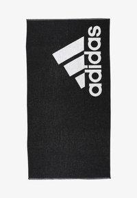 TOWEL L - Handduk - black/white