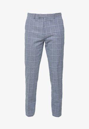 TROUSER SLIM - Pantaloni eleganti - mid blue