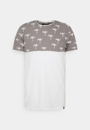 CHARLTON - Print T-shirt - dark grey
