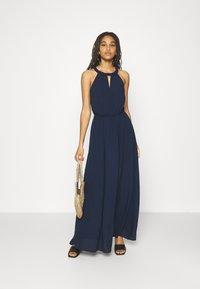 Vila - VIMESA BRAIDED DRESS - Maxi dress - navy blazer - 1