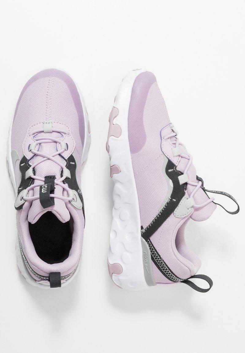 Nike Sportswear - RENEW 55  - Zapatillas - iced lilac/metallic silver/off noir/light smoke grey