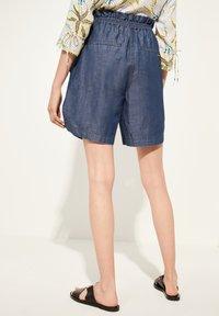 comma casual identity - Denim shorts - blue - 2