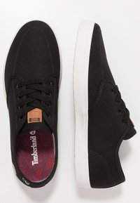 Timberland - UNION WHARF - Sneakersy niskie - black - 1