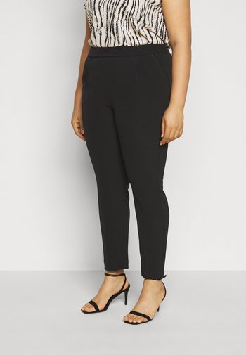 PULL ON TROUSER - Trousers - black