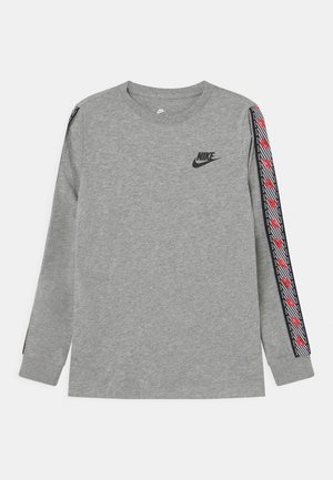 TEE TAPE UNISEX - Pitkähihainen paita - dark grey heather