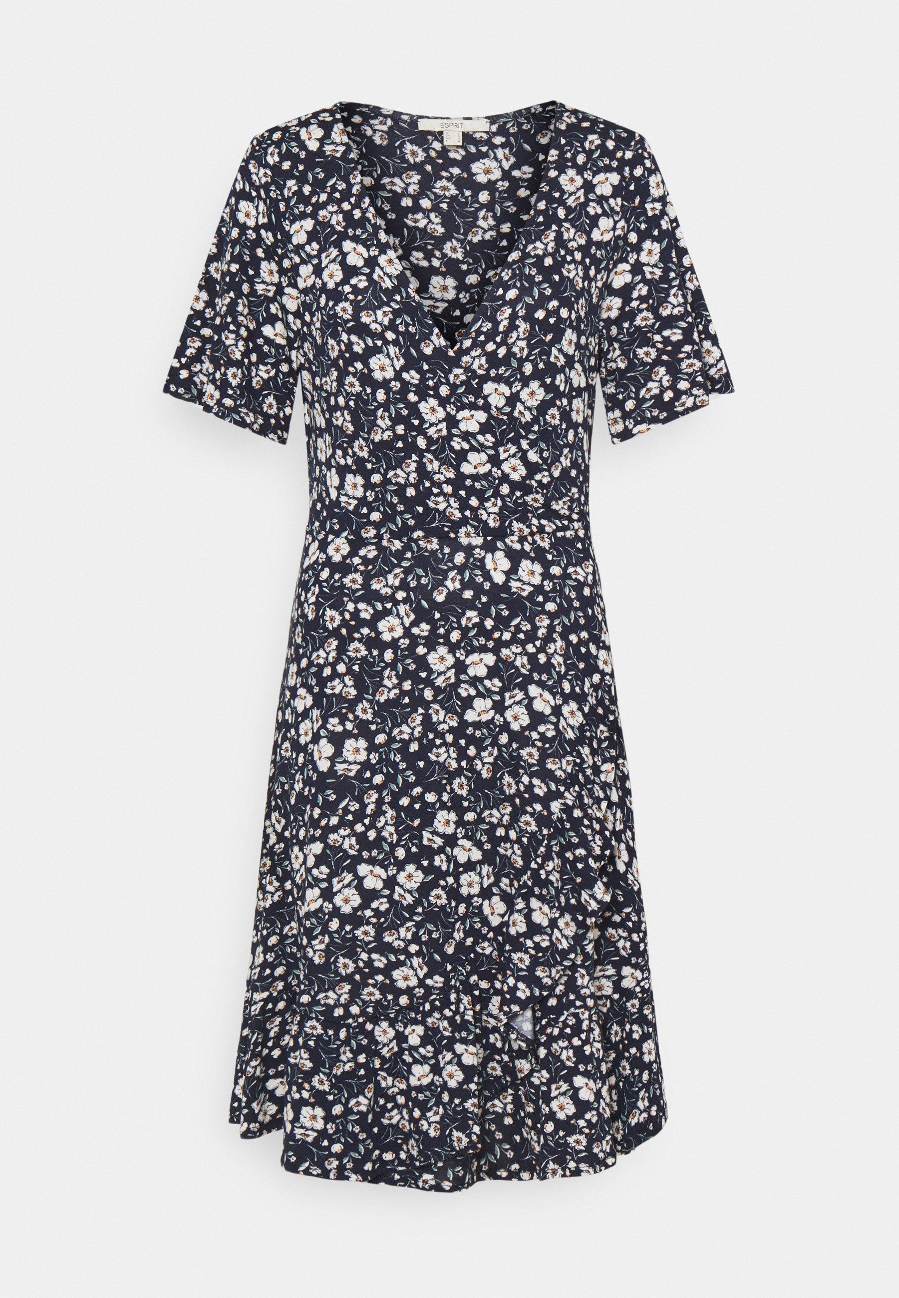 Women FRILLS - Jersey dress