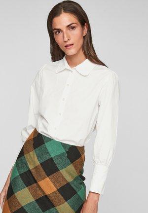 PUFF - Button-down blouse - offwhite