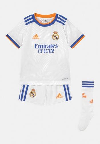 REAL MADRID H MINI SET UNISEX - Club wear - white