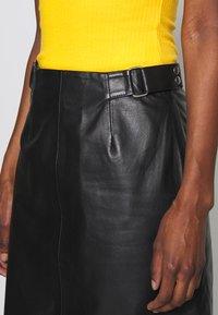 Selected Femme Tall - SLFSABINE SKIRT - A-line skjørt - black - 3