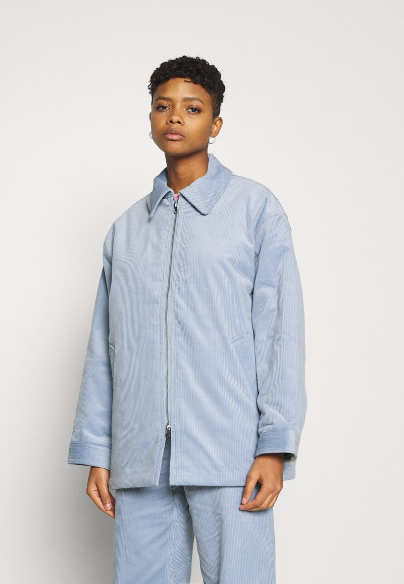 Weekday - TARA JACKET - Light jacket - light blue