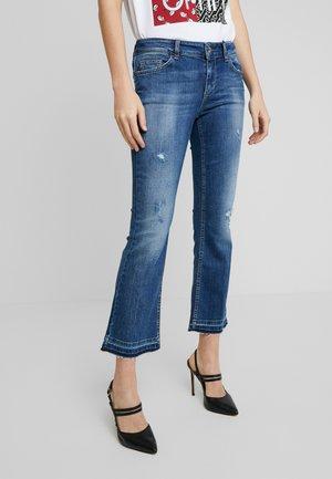 UP GLAM REG - Bootcut jeans - ground wash