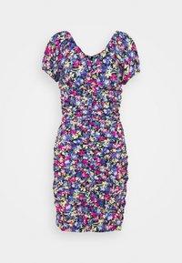 ELINA ROUCHED DRESS - Shift dress - multi-coloured