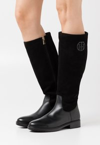 Tommy Hilfiger - MODERN LONG BOOT - Boots - black - 0