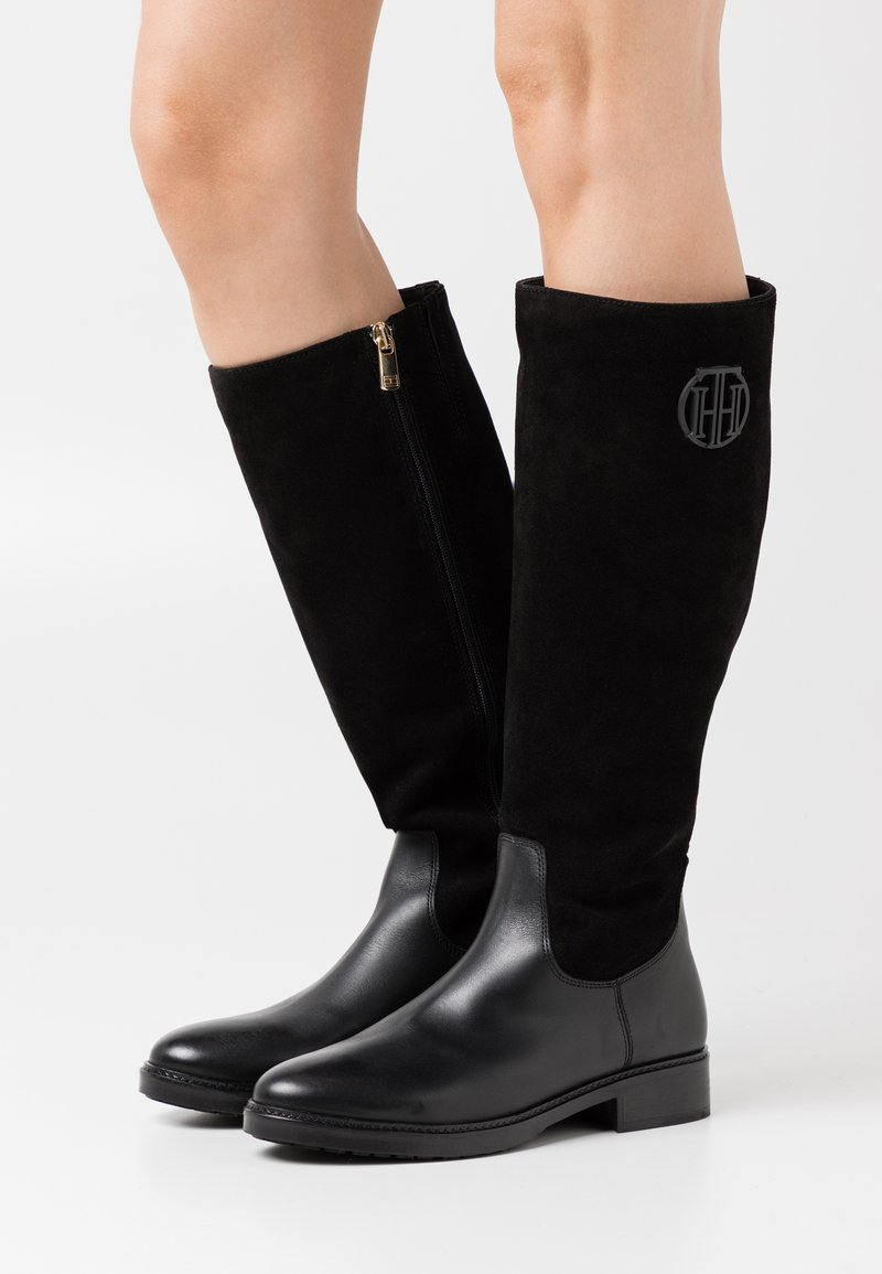 Tommy Hilfiger - MODERN LONG BOOT - Boots - black